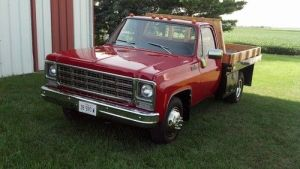 Purchase used 1979 Chevy C30 Flatbed 1 Ton, Dually Truck