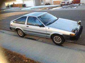 Purchase used 1984 Toyota Corolla Sport SR5 Hatchback 2