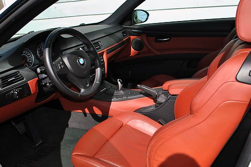 Sell Used LK 2008 BMW M3 Coupe Alpine White Red Interior