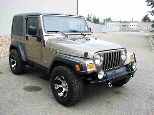 Sell Used 2006 JEEP WRANGLER RUBICON HARD TOP ONE OWNER