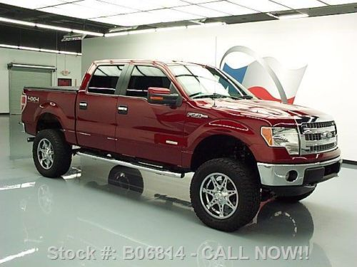 Sell Used 2013 Ford F150 Crew Ecoboost 4x4 Lift Tonneau