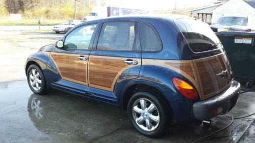 Buy Used 2002 Quot Woodie Edition Quot Chrysler Pt Cruiser Touring