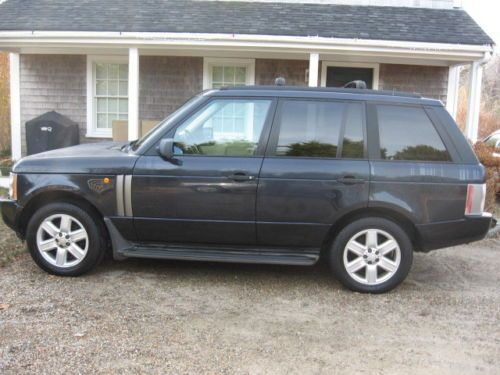 Find Used 2004 Land Rover Range Rover HSE Sport Utility 4