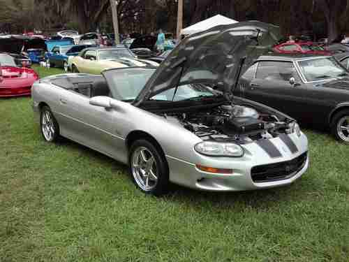 Sell Used Camaro Ss Slp 6 Speed Ls1 Convertible 1 Of