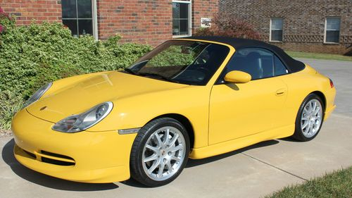 Purchase Used 1999 Porsche 996 Carrera 4 Cabriolet Speed