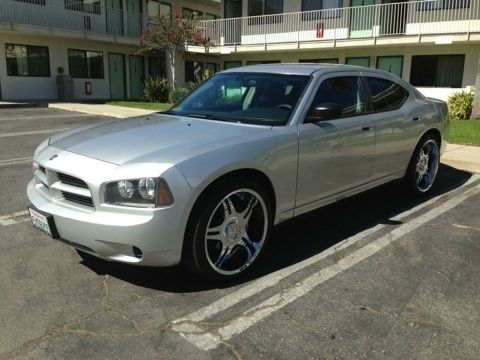 Find Used 07 Dodge Charger Se Silver With 22 Quot Rims In