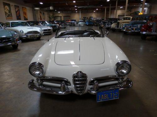 Purchase Used 1962 Alfa Romeo Giulietta Spider California
