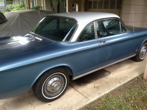 Find Used 1962 Chevy Monza 900 Sedan Automatic Blue With