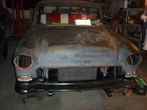 Find New 1955 55 Chevy Frame Off Unfinished Bel Air 2 Door