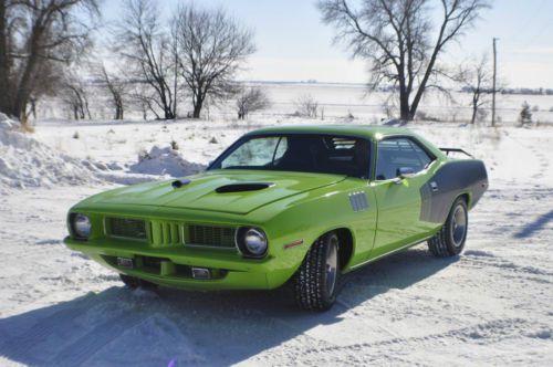 Buy New 1972 Cuda With 2010 6 1l Hemi Engine In Shreveport