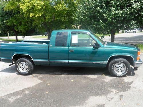 Sell Used 1995 Chevrolet C1500 Silverado Extended Cab