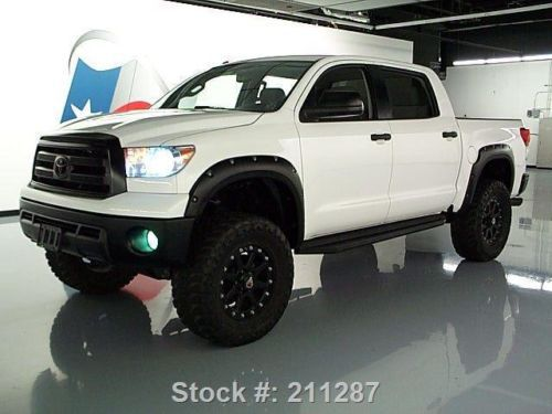 Sell Used 2012 Toyota Tundra Crewmax 4x4 Lift Nav Dvd 20 S
