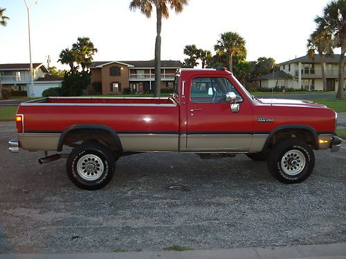 Purchase Used 1993 Dodge W250 Le Single Cab Automatic 4x4