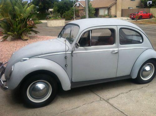 Image result for grey primer 1959 volkswagen beetle pictures