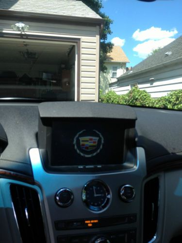 Sell Used 2012 Cadillac Cts Performance Coupe Sunroof Nav