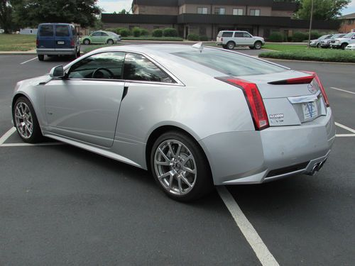 Buy Used 2012 Cadillac CTS V Coupe 2 Door 62L One Owner