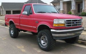 Sell used 1993 Ford F150 XLT Standard Cab Pickup 2Door 5