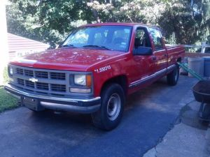 Sell used 1997 Chevy C3500 1 Ton Crew Cab 8' bed pickup