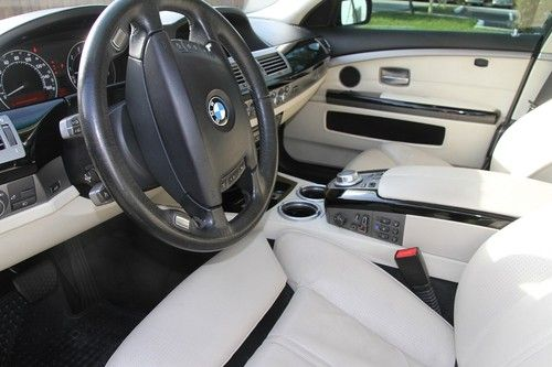 Purchase Used Bmw E65 2007 750 Individual Pkg Perfect Condition In Hollywood Fl United States