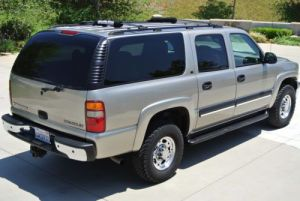 Purchase used 2002 CHEVROLET SUBURBAN 2500 LS 4X4 60L
