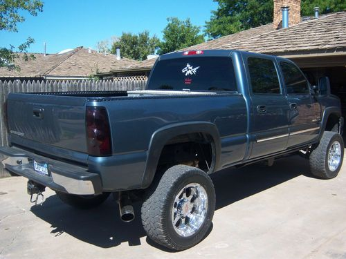 Buy Used 2007 Chevy 2500 Hd Lifted Duramax Loaded 4x4 Blue