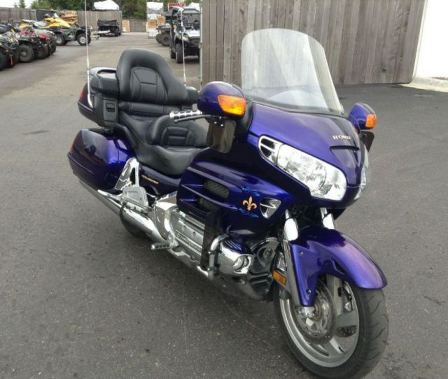 Illusion Blue Honda Gold Wing For Sale Find Or Sell