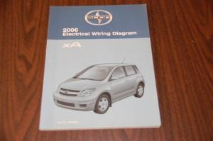 Find 2006 Toyota Scion XA Factory OEM Electrical Wiring Diagram Manual, EWD motorcycle in