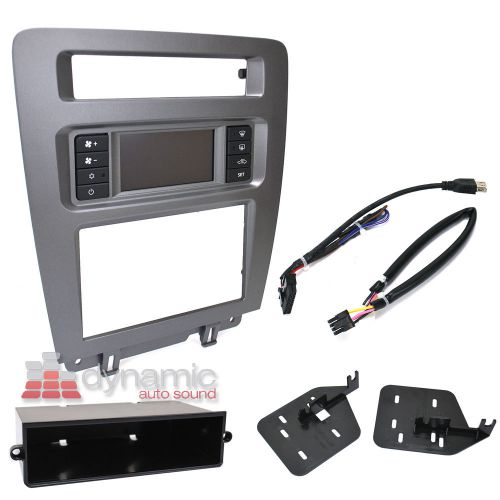 2011 Mustang Double Din Dash Kit