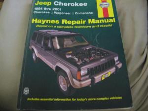 Buy 1984  2001 Jeep Cherokee Haynes Repair Manual