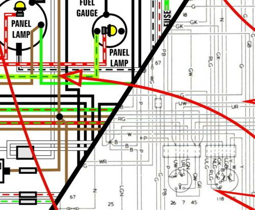 1967 alfa romeo wiring diagram  2011 chevy hhr fuse box