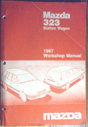 Find 1987 Mazda 323 Station Wagon Shop Repair Service