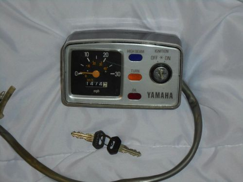 Buy Yamaha Qt50 Gauge Cluster Speedometer Moped Ignition