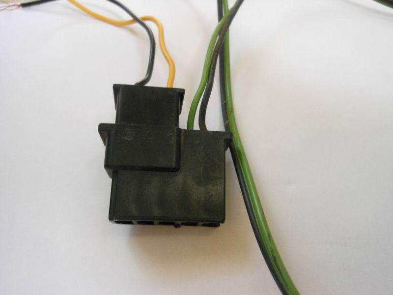 Find Camaro Am Fm Delco Radio Plug Wire Harness