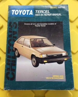 Find Chilton's Toyota Tercel Repair Manual 19841994 by Chilton (8595) 68700 motorcycle in Santa
