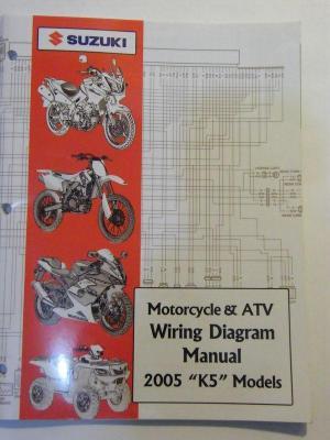 Sell NEW 2005 SUZUKI MOTORCYCLE & ATV WIRING DIAGRAM K5