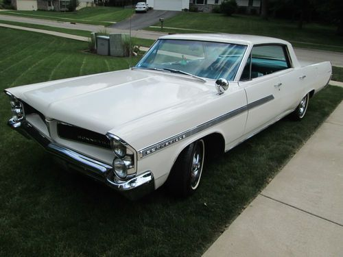 Image result for 1963 white pontiac bonneville 4 door