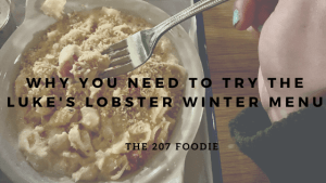 Trust me you need to try the winter menu at Luke's Lobster