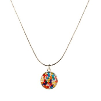 Another item in the December Eat Drink Lucky box as an add on is the Sprinkles necklace