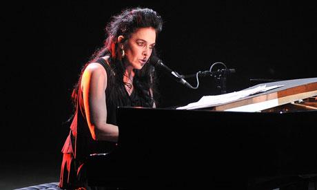 Diamanda Galas performs on the opening night of Antony's Meltdown at the Royal Festival Hall