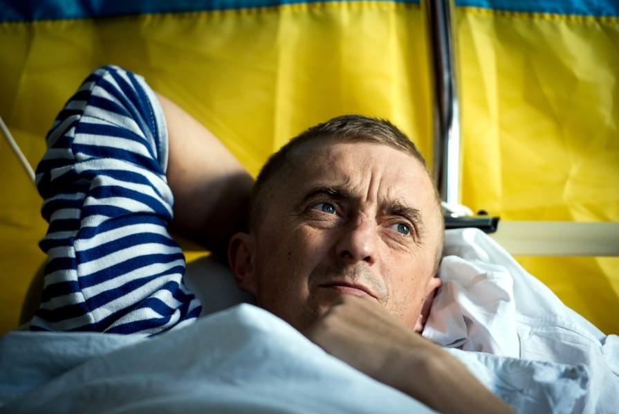 Сергей Шапошник. Сейчас он на лечении в Вильнюсе