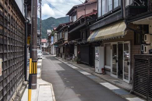 Furukawa streets, looking the other way