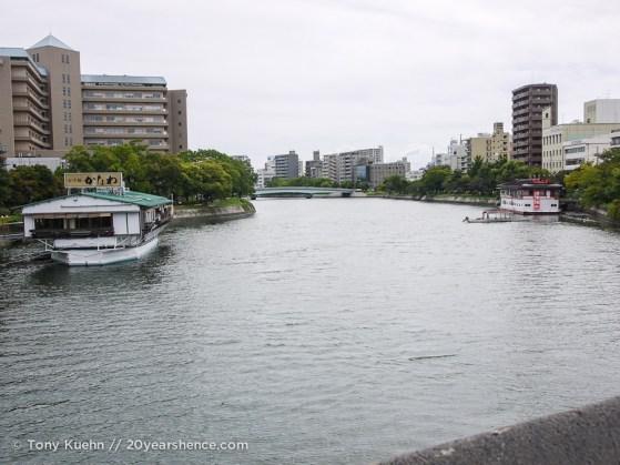Crossing the Ota river
