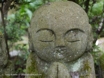 Meditation set in stone