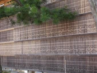 Prayer boards at the entrance to fushimi inari