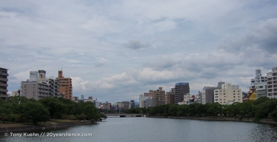 Hiroshima along the river