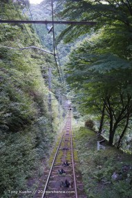The tramway, from above