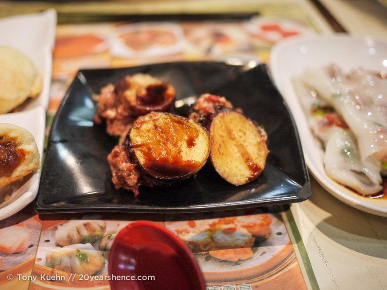 Pork-Stuffed Fried Eggplant