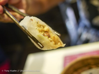 Some Kind of Special Dumpling (possibly Chiu Chow Style) That Had Peanuts in the Filling