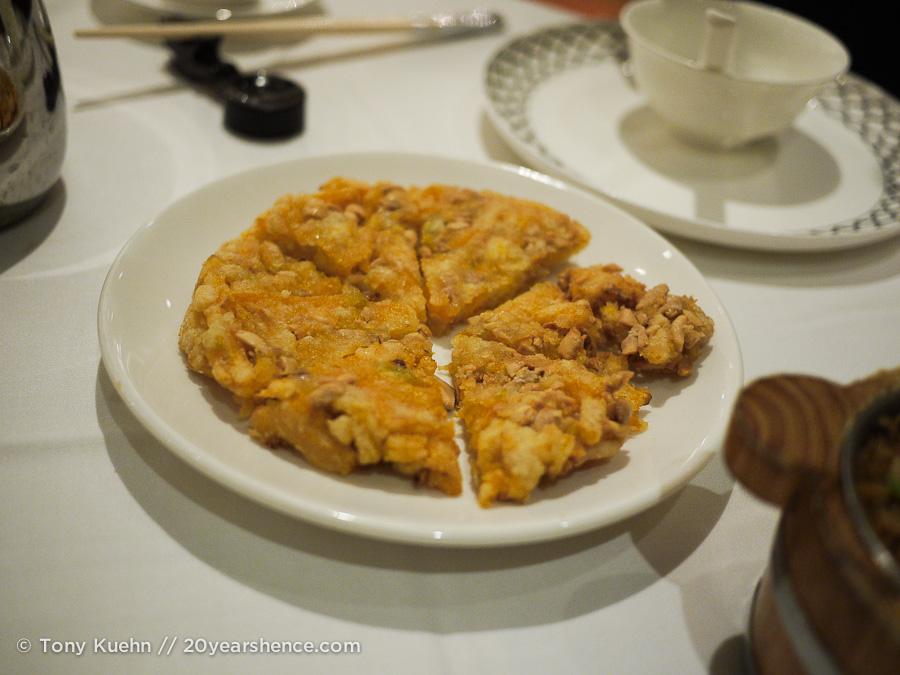 Pumpkin and peanut pancake