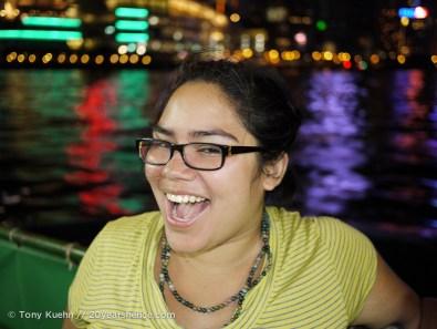 Nerd on a boat